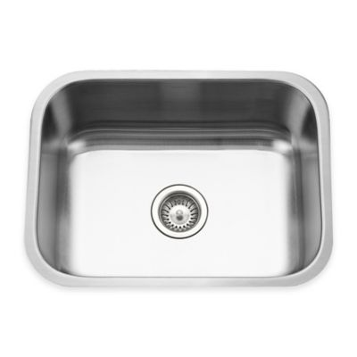 Houzer Eston Series Undermount 50/50 Double Bowl Kitchen Sink in Satin