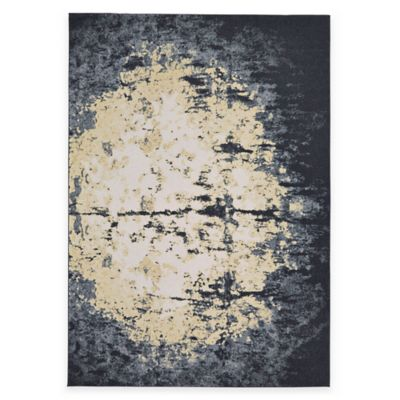 Feizy Farrell Orb 5-Foot x 8-Foot Area Rug in Charcoal