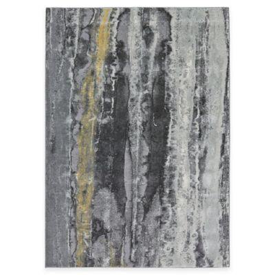 Feizy Farrell Fade 5-Foot x 8-Foot Area Rug in Grey