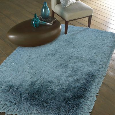 Mohawk Home Juliet Metallic 2-Foot 6-Inch x 3-Foot 10-Inch Shag Accent Rug in Taupe