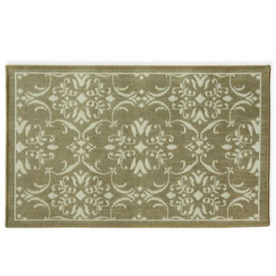 Brown Accent Rug
