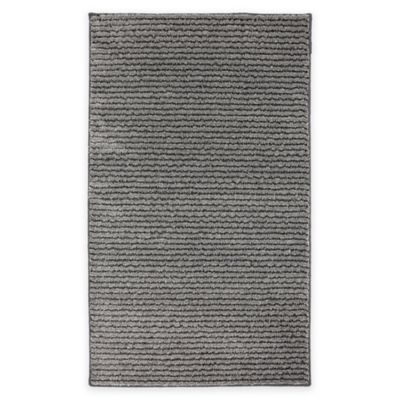 Mohawk Pin Stripe 1-Foot 7-Inch x 2-Foot 8-Inch Accent Rug in Grey
