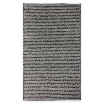 Mohawk Pin Stripe 2-Foot 5-Inch x 3-Foot 8-Inch Accent Rug in Grey