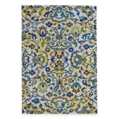 Feizy Caslon Floral 5-Foot x 8-Foot Area Rug in Ivory Multi