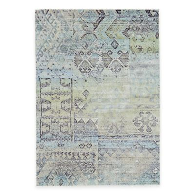 Feizy Landri Distressed Boxes 2-Foot 2-Inch x 4-Foot Multicolor Accent Rug