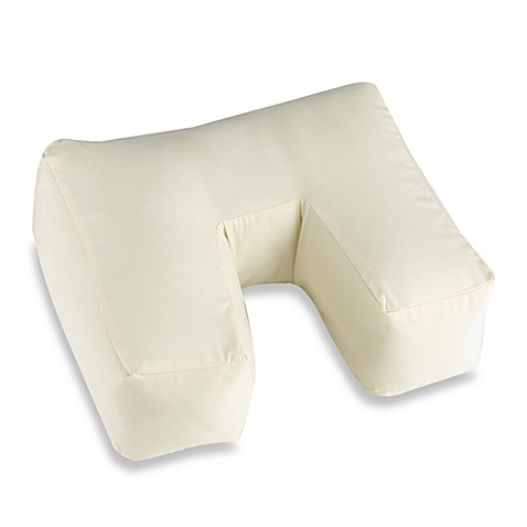 U-Neck Pillow Protector in Ivory