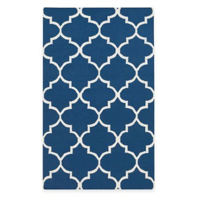 Artistic Weavers York Mallory 3-Foot x 5-Foot Area Rug in Blue