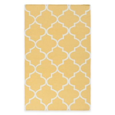 Artistic Weavers York Mallory 3-Foot x 5-Foot Area Rug in Yellow