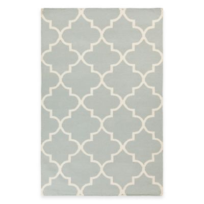 Artistic Weavers York Mallory 4-Foot x 6-Foot Area Rug in Light Blue