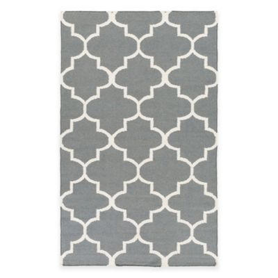 Artistic Weavers York Mallory 4-Foot x 6-Foot Area Rug in Grey