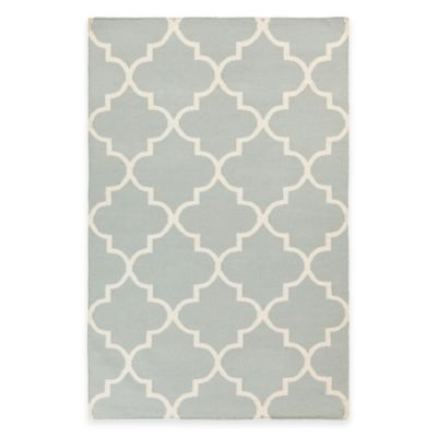 Artistic Weavers York Mallory 5-Foot x 8-Foot Area Rug in Light Blue
