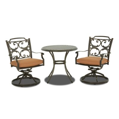 Klaussner Lowell Bay 3-Piece Outdoor Seating Set