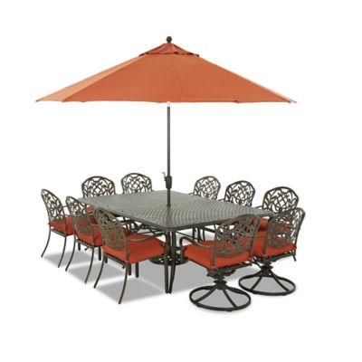 Klaussner Riviera 13-Piece Outdoor Dining Set