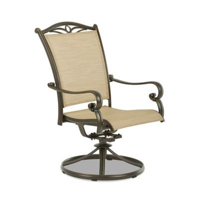 Klaussner Verona Outdoor Swivel Chairs (Set of 2)