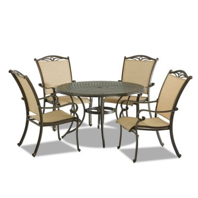 Klaussner Verona 5-Piece Outdoor Dining Set