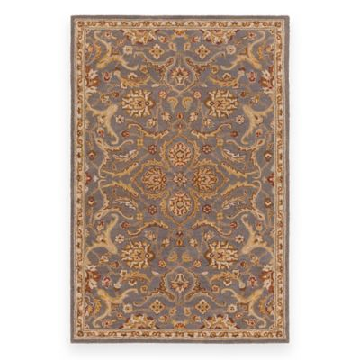 Artistic Weavers Middleton Ava 8_Foot Round Area Rug in Rust