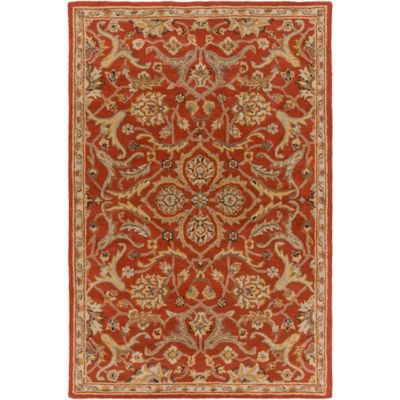 Artistic Weavers Middleton Ava 2-Foot x 3-Foot Accent Rug in Rust