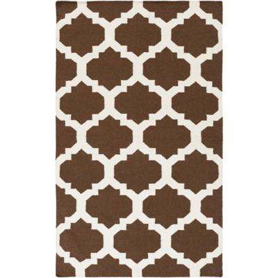 Artistic Weavers York Harlow 9-Foot x 12-Foot Area Rug in Brown
