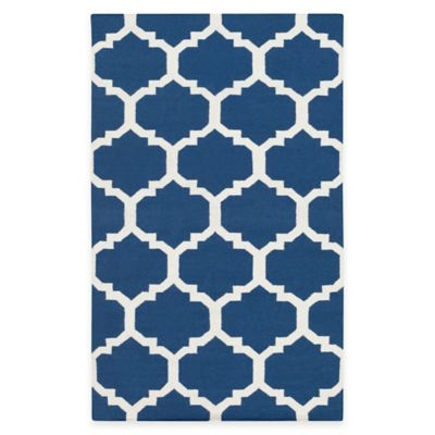 Artistic Weavers York Harlow 9-Foot x 12-Foot Area Rug in Blue