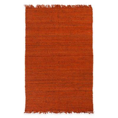 Feizy Tropica Harper 5-Foot x 7-Foot 6-Inch Area Rug in Rust
