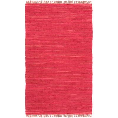 Cotton Red Rug