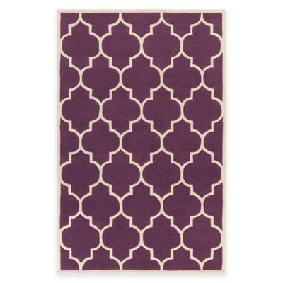 Artistic Weavers Transit Piper 2-Foot x 3-Foot Accent Rug in Purple