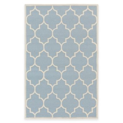 Artistic Weavers Transit Piper 6-Foot x 9-Foot Area Rug in Light Blue