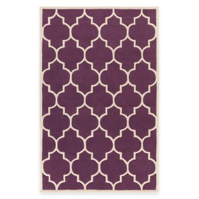 Artistic Weavers Transit Piper 7-Foot 6-Inch x 9-Foot 6-Inch Area Rug in Purple