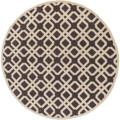 Artistic Weavers Transit Madison 3-Foot 6-Inch Round Area Rug in Grey