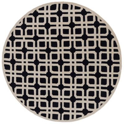 Artistic Weavers Transit Madison 3-Foot 6-Inch Round Area Rug in Slate