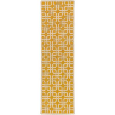Artistic Weavers Transit Madison 2-Foot 3-Inch x 8-Foot Runner in Yellow