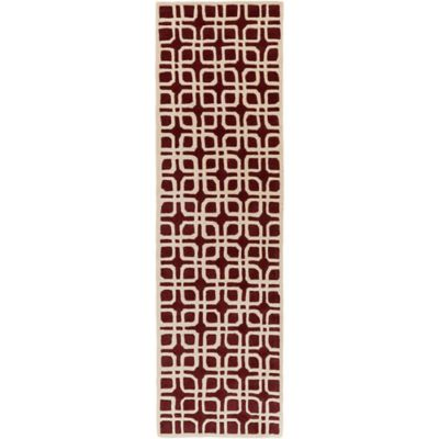 Artistic Weavers Transit Madison 2-Foot 3-Inch x 8-Foot Runner in Red