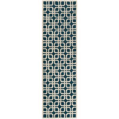 Artistic Weavers Transit Madison 2-Foot 3-Inch x 8-Foot Runner in Blue