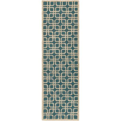Artistic Weavers Transit Madison 2-Foot 3-Inch x 12-Foot Runner in Teal