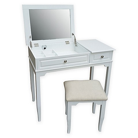 Emily Bathroom Vanity Set With Stool Bed Bath Amp Beyond