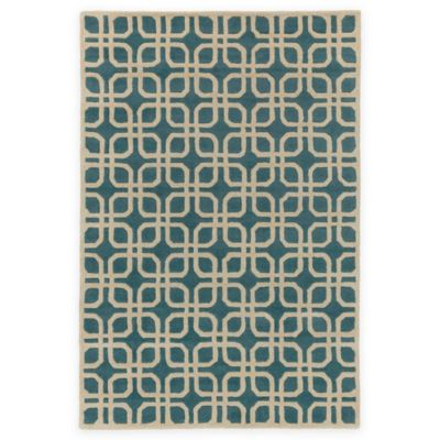 Artistic Weavers Transit Madison 5-Foot x 8-Foot Area Rug in Teal