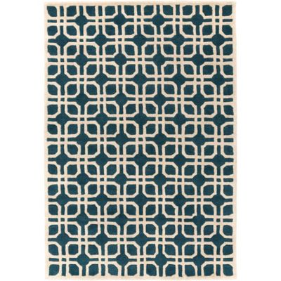 Artistic Weavers Transit Madison 6-Foot x 9-Foot Area Rug in Blue