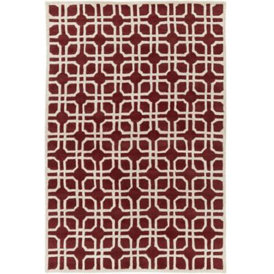 Artistic Weavers Transit Madison 6-Foot x 9-Foot Area Rug in Red