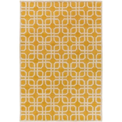 Artistic Weavers Transit Madison 6-Foot x 9-Foot Area Rug in Yellow