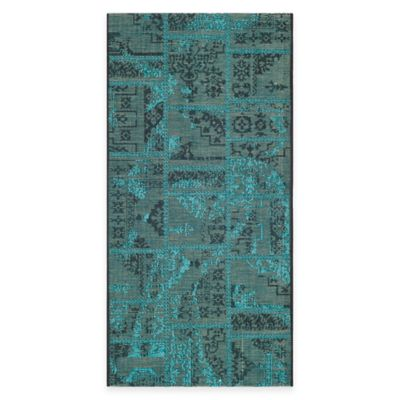 Turquoise/Green Area Rugs