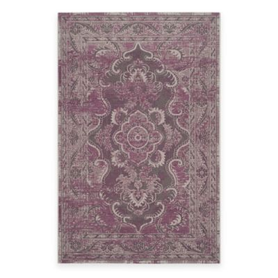 Safavieh Palazzo Alyx 2-Foot x 3-Foot 6-Inch Accent Rug in Grey/Purple