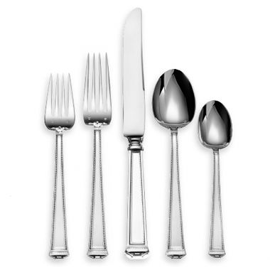 Tuttle Pantheon Sterling Silver Flatware 5-Piece Place Setting