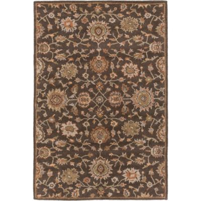 Artistic Weavers Origin Abigail 7-Foot 6-Inch x 9-Foot 6-Inch Area Rug in Brown