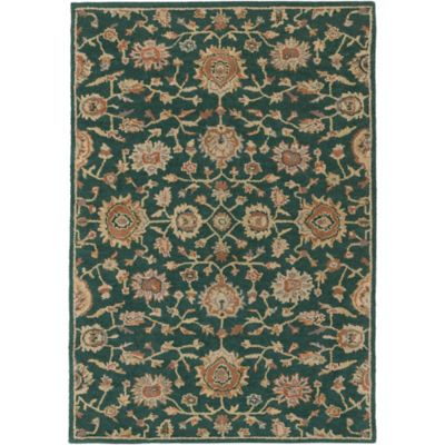 Artistic Weavers Origin Abigail 6-Foot x 9-Foot Area Rug in Emerald