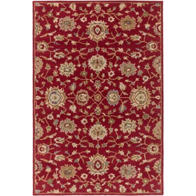 Artistic Weavers Origin Abigail 7-Foot 6-Inch x 9-Foot 6-Inch Area Rug in Red