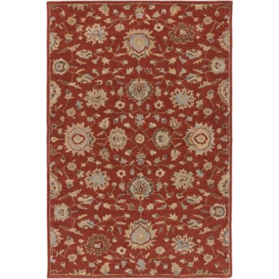 Artistic Weavers Origin Abigail 7-Foot 6-Inch x 9-Foot 6-Inch Area Rug in Rust