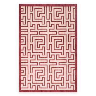 Safavieh Infinity Izo 4-Foot x 6-Foot Area Rug in Yellow/Red