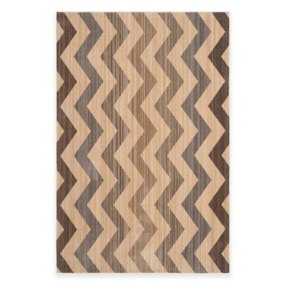 Safavieh Infinity Landry 5-Foot x 7-Foot Area Rug in Yellow/Brown