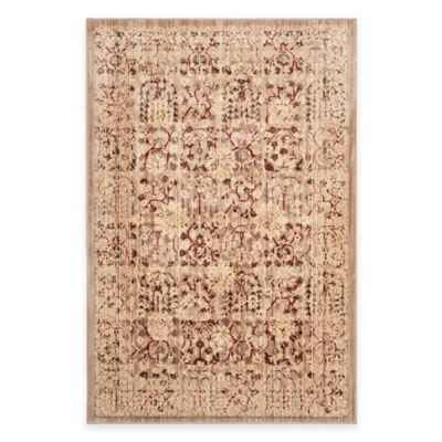 Safavieh Infinity Traditional 5-Foot x 7-Foot Area Rug in Beige/Yellow
