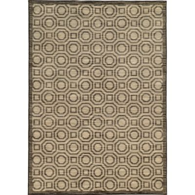 Oriental Weavers Harper Circles 3-Foot 3-Inch x 5-Foot 5-Inch Area Rug in Charcoal